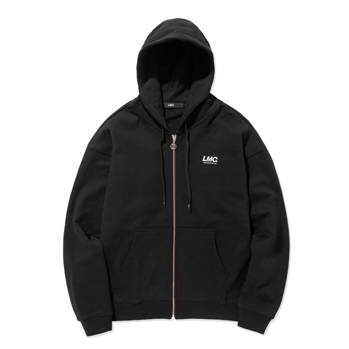 엘엠씨 후드집업 LMC ITALIC ZIP-UP HOODIE black