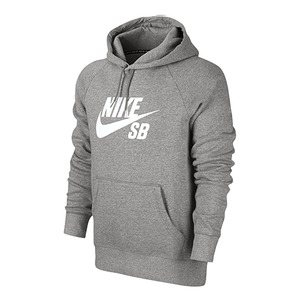 나이키SB 후드 NIKE SB ICON PO HOODIE // DK GREY HEATHER