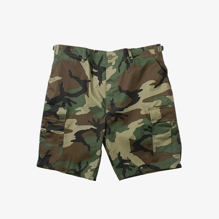 로스코 반바지 Camo BDU Shorts // Woodland
