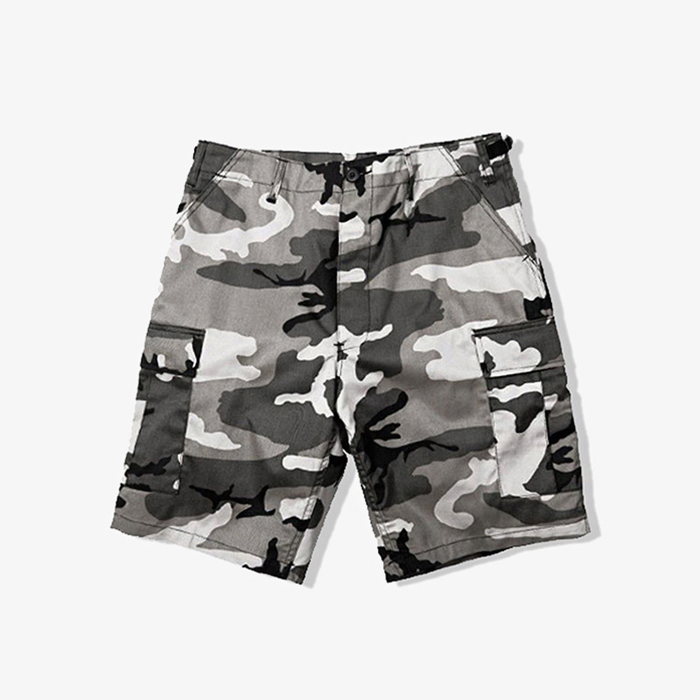 로스코 반바지 Colored Camo BDU Shorts // City