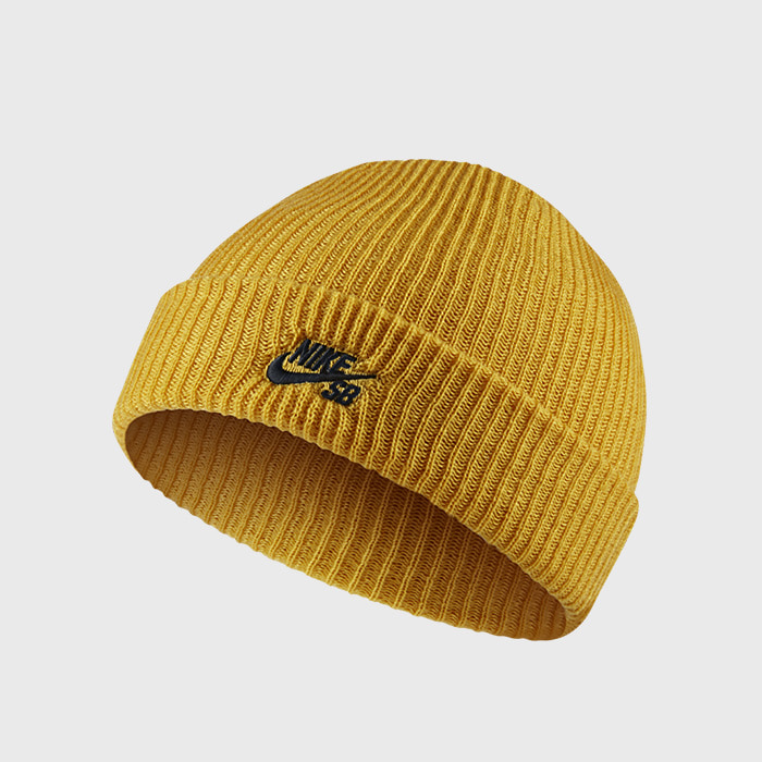 나이키SB  비니 CAP FISHERMAN // MINERAL GOLD/BLACK