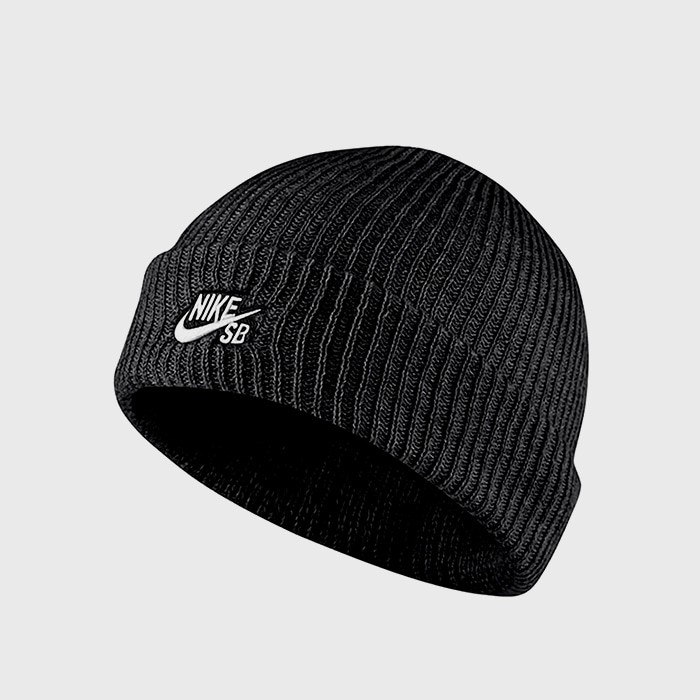 나이키SB 비니 CAP FISHERMAN // BLACK/WHITE