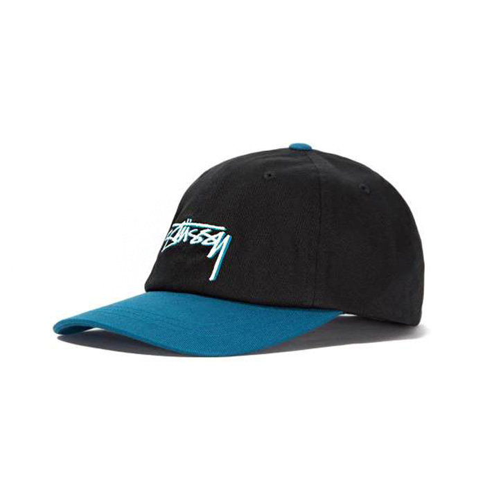 스투시 STUSSY FITTED LOW CAP/BLACK_131831