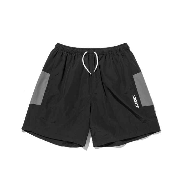 엘엠씨 반바지 LMC ZIPPER LEF TRACK SUIT SHORTS black