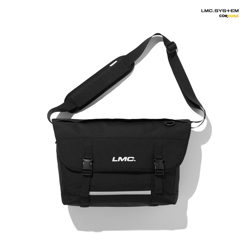 엘엠씨 메신져백 LMC SYSTEM UTILITY MESSENGER BAG black(재입고)