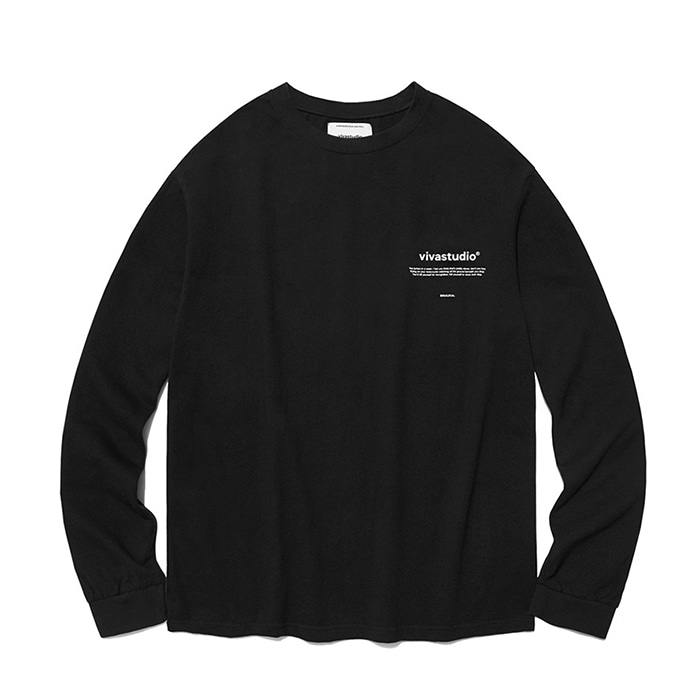 비바스튜디오 롱슬리브 NEW BINAURAL LONG SLEEVE IA/BLACK