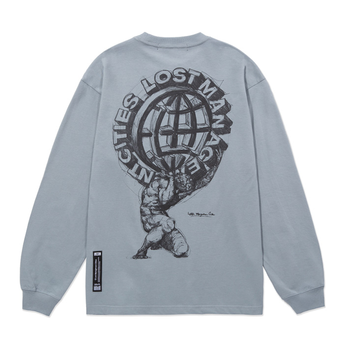 엘엠씨 롱슬리브 LMC ATLAS LONG SLV TEE gray