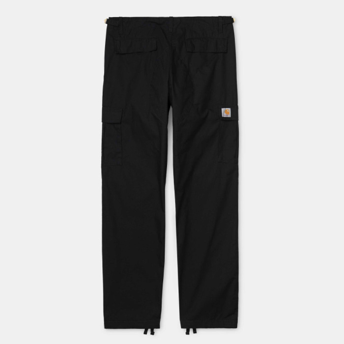 칼하트wip AVIATION PANT/ Black rinsed