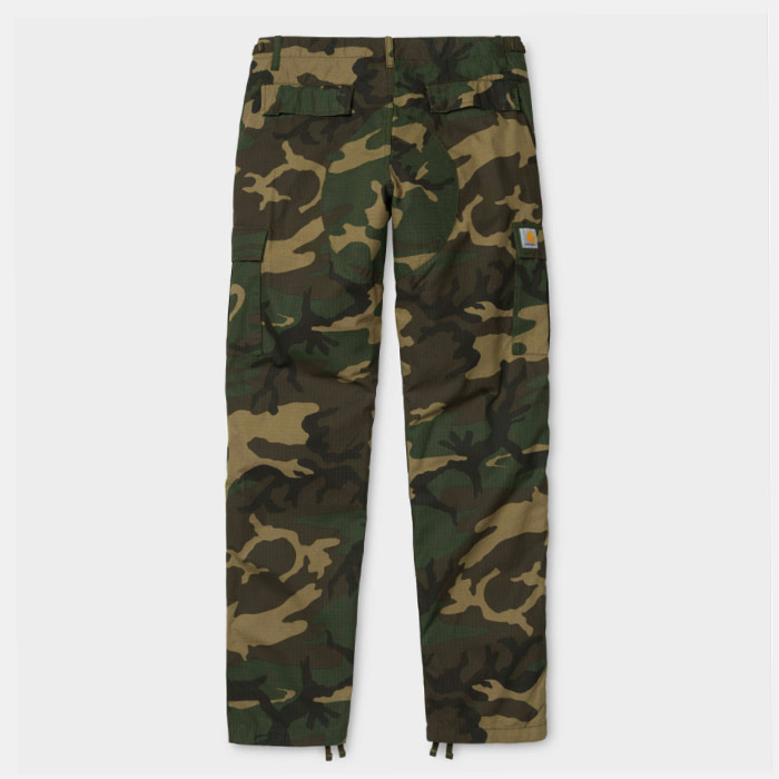 칼하트wip AVIATION PANT/ Camo Laurel rinsed
