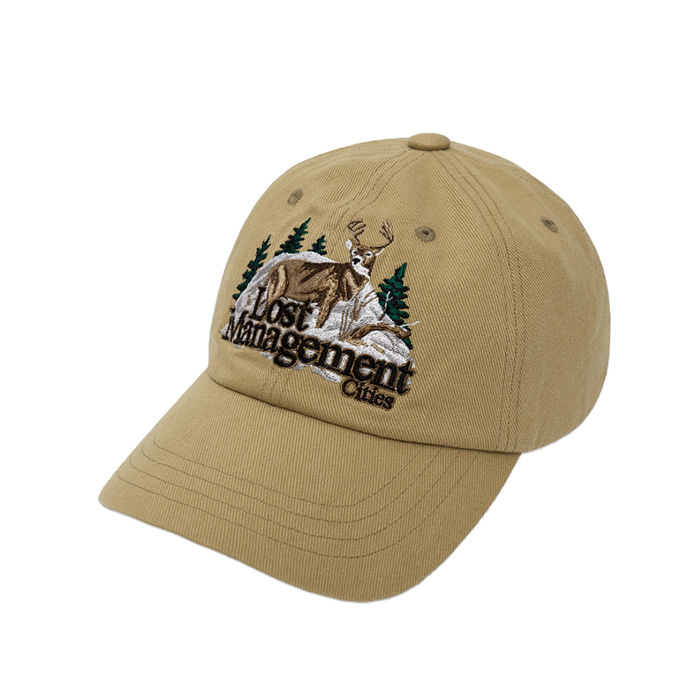 엘엠씨 모자 LMC DEER 6PANEL CAP beige