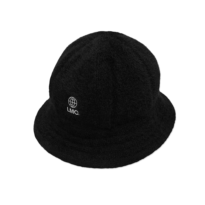 엘엠씨 모자 LMC FAUX FUR BELL BUCKET HAT black