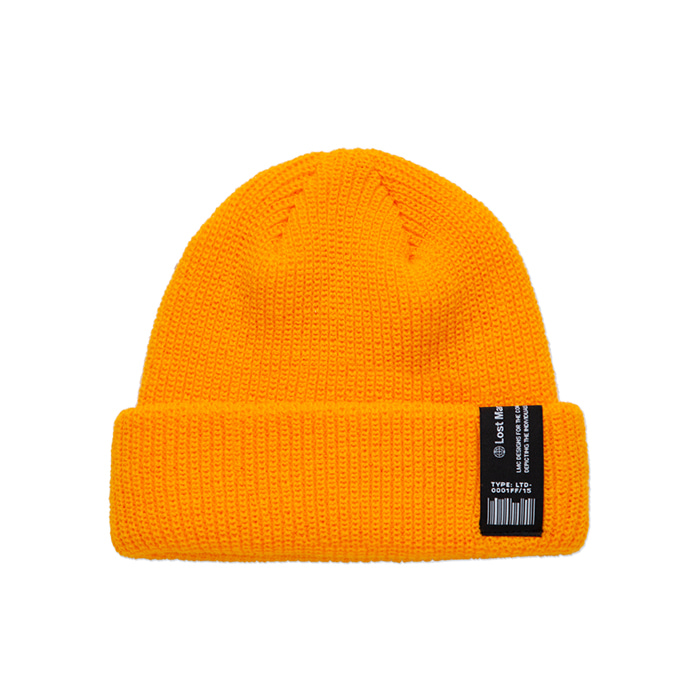 엘엠씨 비니 LMC LABEL SHORT BEANIE yellow