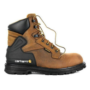 칼하트 워커 6-inch bison waterproof work boot - safety toe // brown